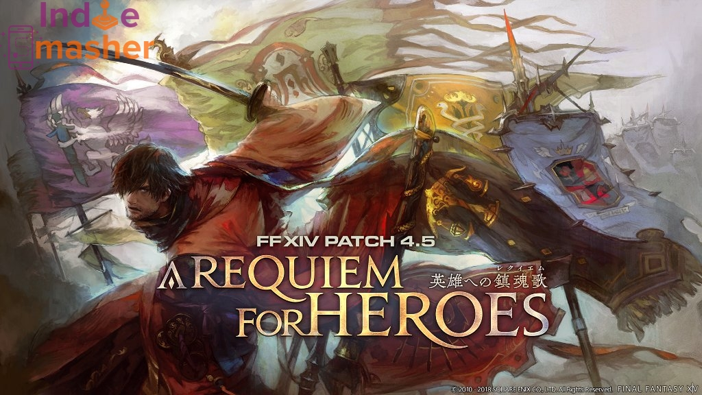 The Final Fantasy XIV A Requiem for Heroes Expansion Is Live