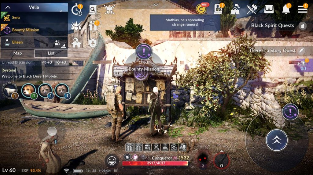 Black Desert Mobile: Ancient Ruins Season Two Now Available