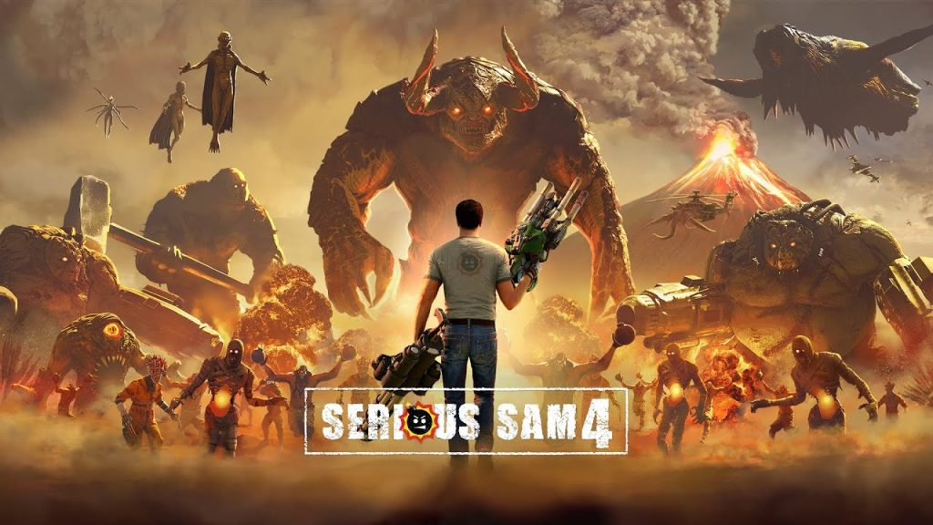 Serious Sam 4: Planet Badass Will Arrive On PC And Stadia Next Month