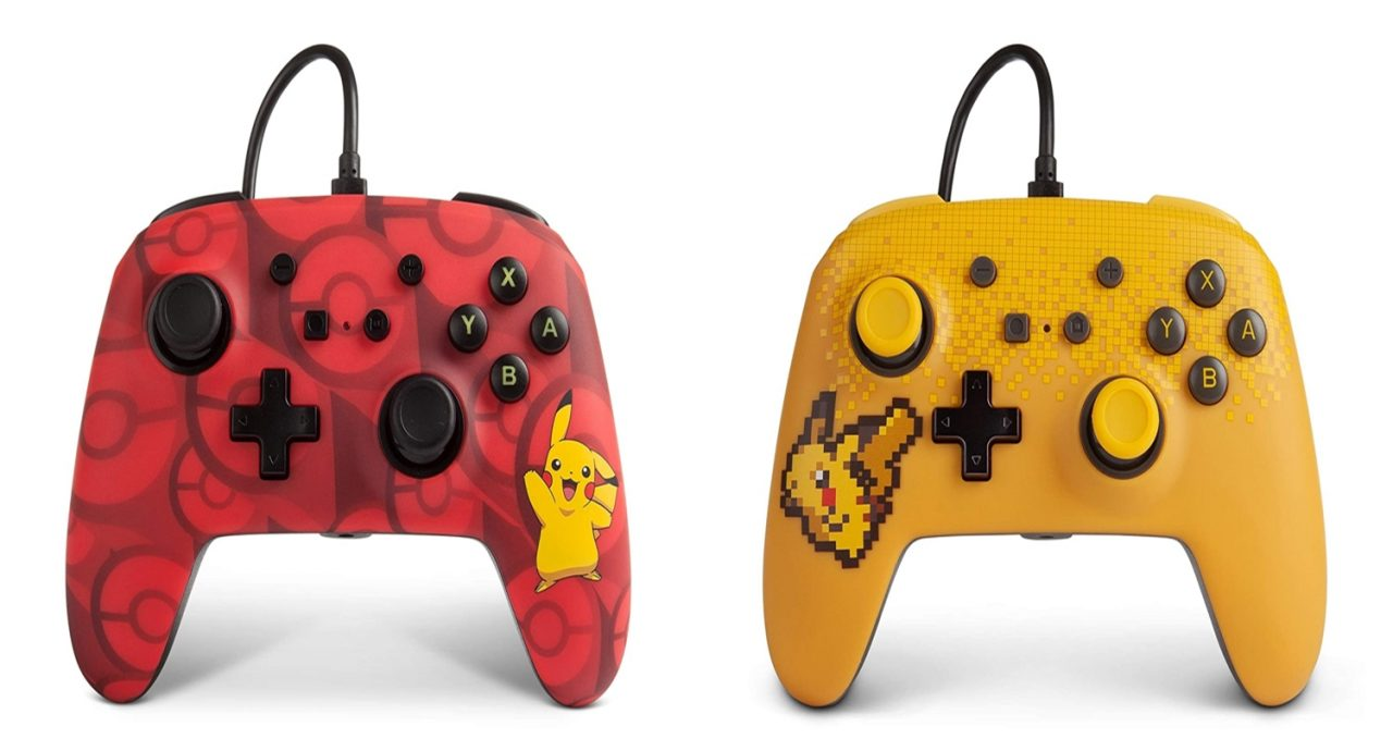 Weekly Deals – Wired Pikachu-Themed Switch Controllers On Sale